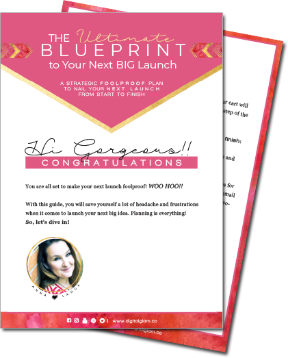 Download FREE - The Ultimate Blueprint To Your Next Online Course Launch